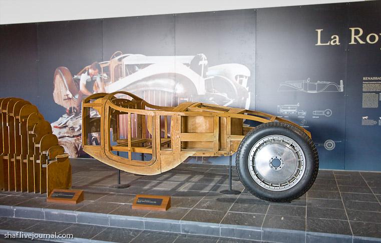 Автомузей; Национальный музей автомобилей, Мюлуз (Mulhouse), Франция; Bugatti Type 41; La Royale
